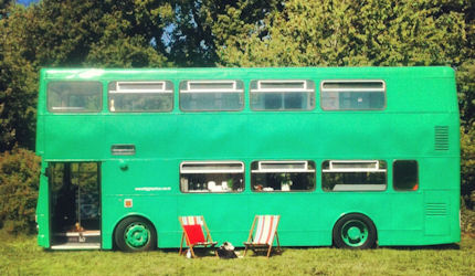 Big Green Bus Quirky Hotels