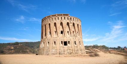 Spain Ceuta Watchtower in Ceuta Spain