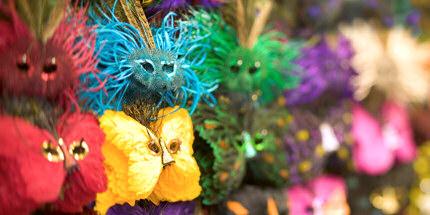 Mardi Gras masks, New Orleans