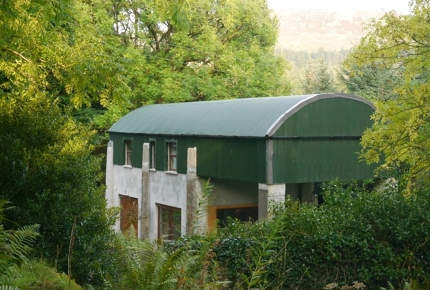 A bed in a barn nestled in the heart of the Ox Mountains - why not?