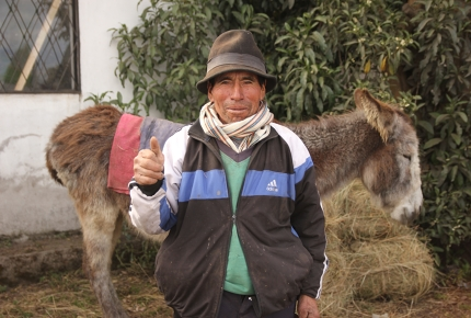 In pictures: The Last Iceman of Ecuador