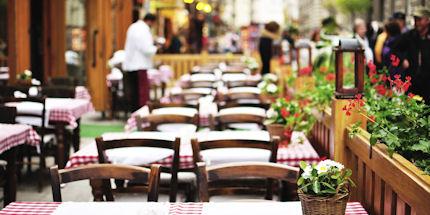 Budapest dining