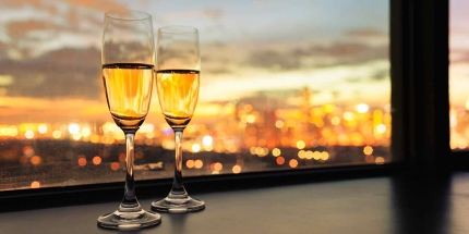 Say cheers to a romantic break for two