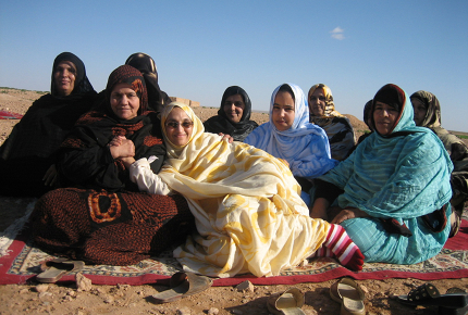 A postcard from Western Sahara