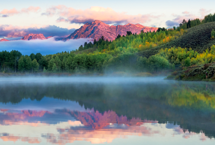 Fall in love with Wyoming's natural beauty again and again