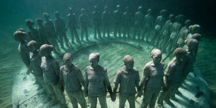 Ring of Children is just one of a host of seabed sculptures