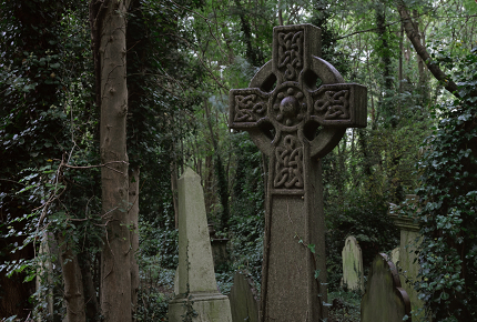 Highgate Cemetery is the resting place of Karl Marx