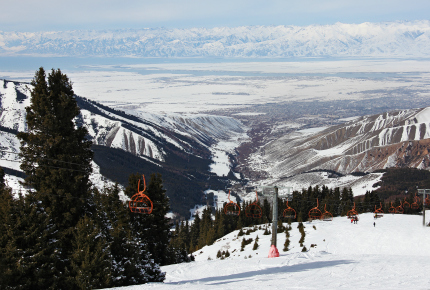 Karakol is a mountain sports mecca in this part of the world
