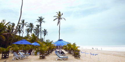 Enjoy pristine Labadi Beach