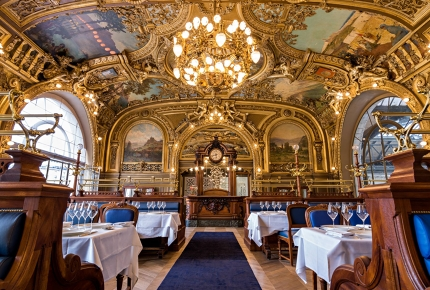 Le Train Bleu does food as good as it looks