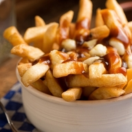 Poutine: a must try when you're in Montreal.