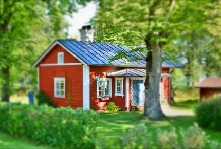 Sweden's countryside is charming