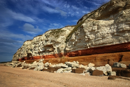 The Norfolk Coast Path stretches from Hunstanton in the west to Cromer in the east.