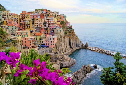The colourful seaside villages of Cinque Terre