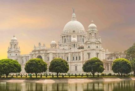 The majestic Raj-era Victoria Memorial