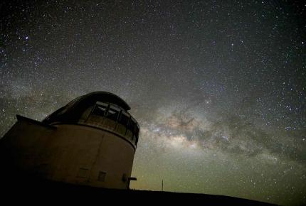 The stars at Mauna Kea, in Hawaii