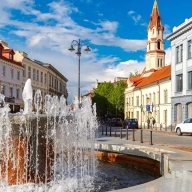 Vilnius, the capital of Lithuania, has Europe's largest baroque Old Town