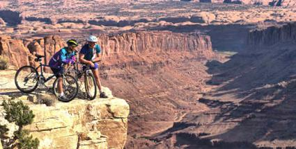 Mountain bikers in one of Utah's stunning national parks © Comstock Images / Comstock / Thinkstock