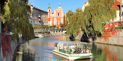 Float down the Ljubljanica River