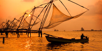 Explore Kerala's waterways