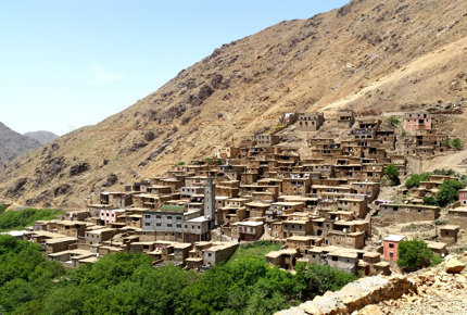 Another Berber village comes into view