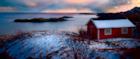 Enjoy the romantic solitude of the Lofoten Islands