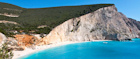 Greece's Porto Katsiki beach makes the perfect July getaway
