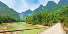Vietnam is a stark contrast to winter white but just as much a wonderland