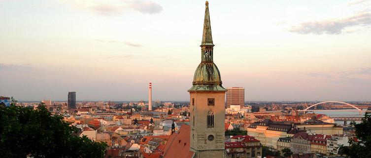 View of Bratislava