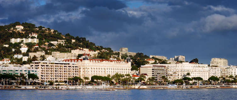 The seafront at Cannes