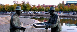 Rosenlund Canal, Gothenburg