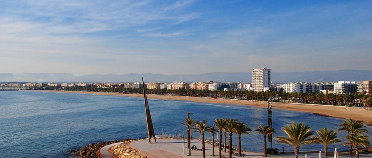 Salou beach in spain spain beach information
