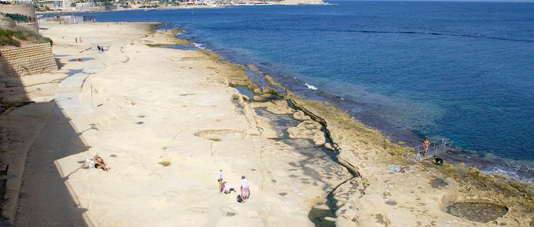 St. Julian's Malta  city photos gallery : St Julian's beaches in Malta beach information