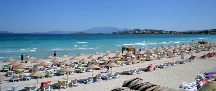 Cesme Turkey  city photos gallery : Cesme beaches in Turkey beach information