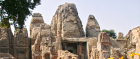 A dishevelled majesty: Masroor Rock Cut Temple