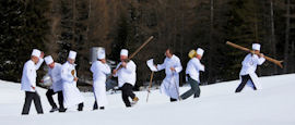 Chefs in Alta Badia bring gourmet cuisine to the slopes