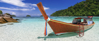 An empty beach in Thailand? Surely not