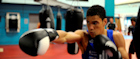 British middleweight boxing hopeful Anthony Ogogo