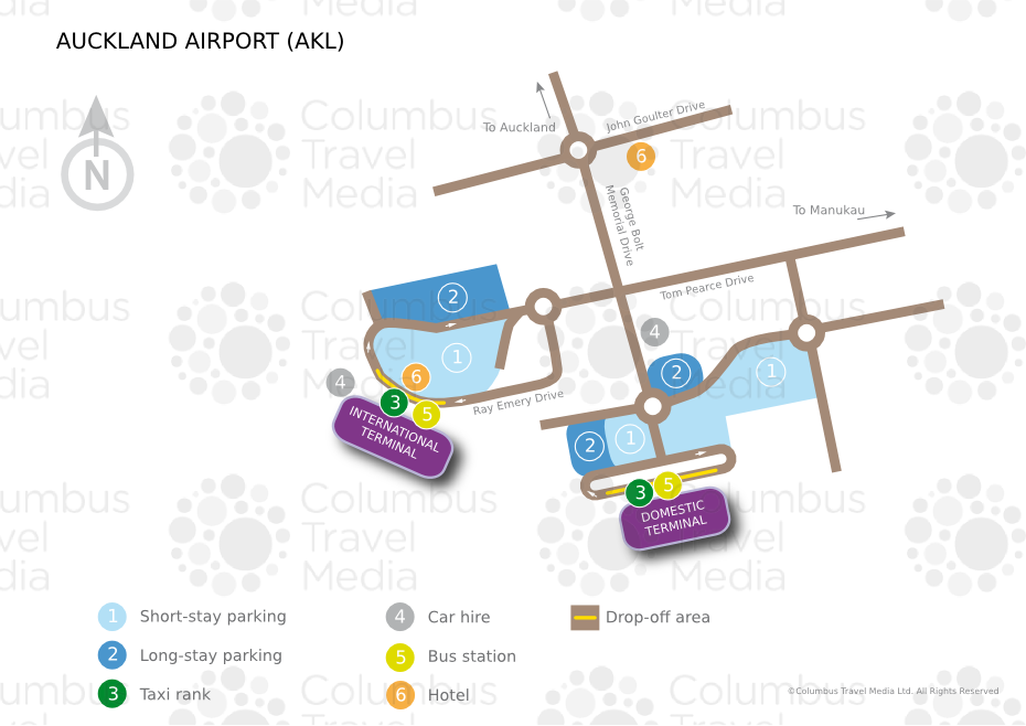 Auckland International Airport AKL Airports Worldwide Airports