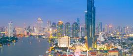 Bangkoks Skyline