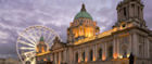 Belfast City Hall at sunset