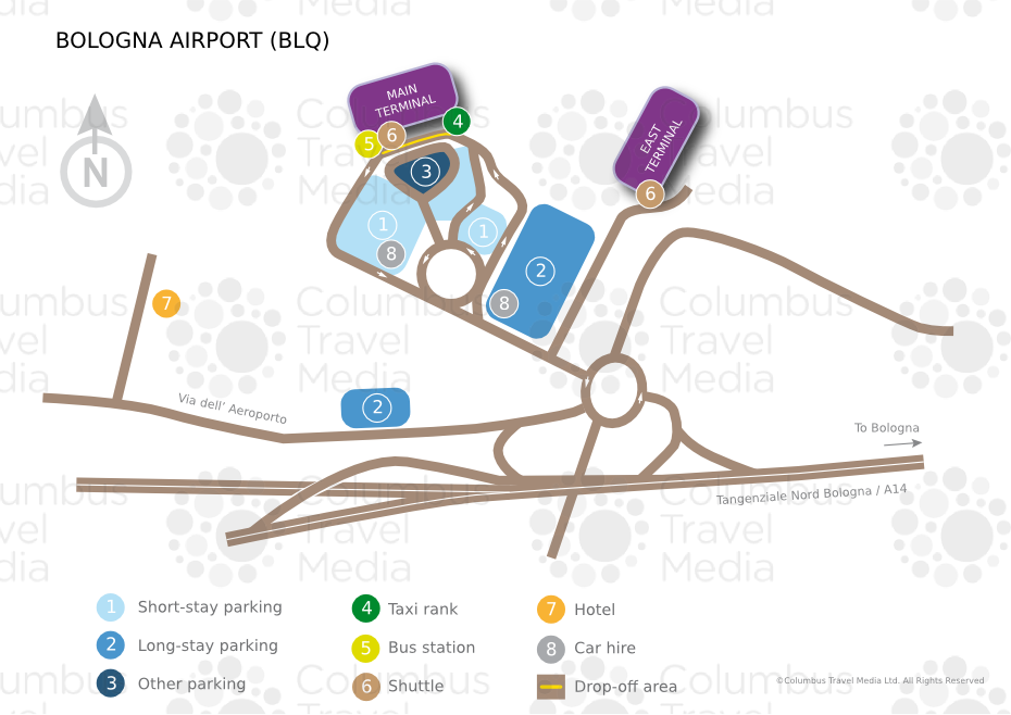 Bologna Airport near Florence BLQ Airports Worldwide