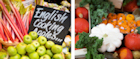 Try British fruit and veg at Borough Market