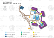 Boston Logan International Airport map