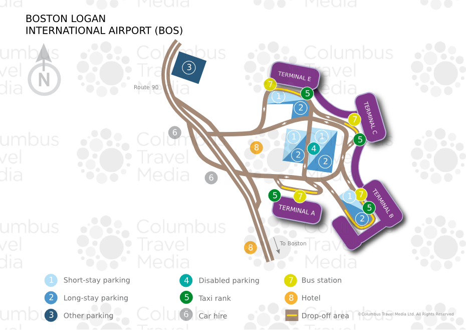 Logan International Airport Bos Airports Worldwide Emirates
