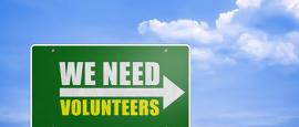 Calling all volunteers.