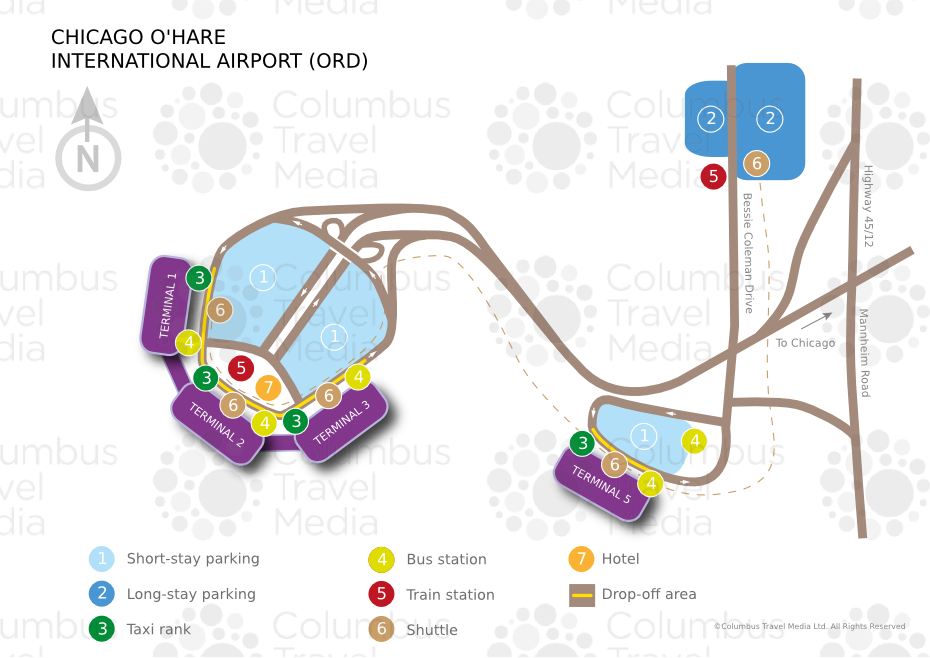 OHare International Airport ORD Airports Worldwide Airports