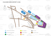 Cologne Bonn Airport map