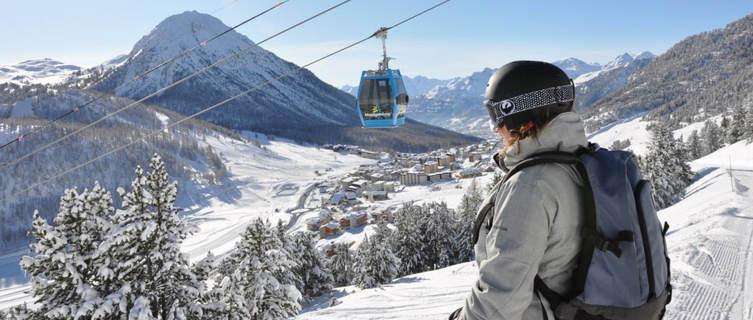 Montgenèvre's vast ski area