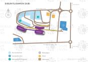 Dublin Airport map